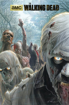 The Walking Dead - Zombie Hoard Poster, Art Print