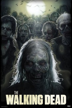 Poster  The walking dead – zombies