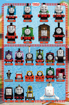 Pôster Thomas and Friends - Characters
