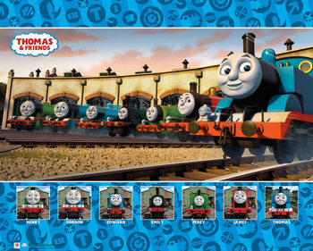 Thomas and Friends - Group Poster
