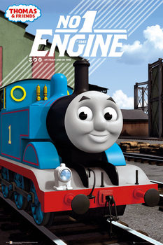 Thomas and Friends - No.1 Engine Poster