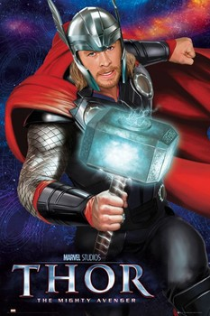 THOR - hammer Poster
