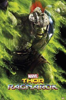 Thor: Ragnarok - Hulk Green Dust Poster