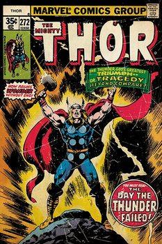 THOR - retro comic Poster