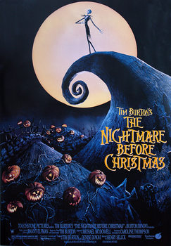 Tim Burton's Nightmare before Christmas Poster