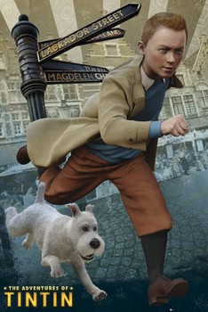 TINTIN - and snowy Poster