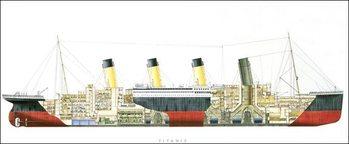 Titanic - Cutaway Art Print