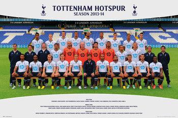 Tottenham Hotspur FC - Team Photo13/14 Poster