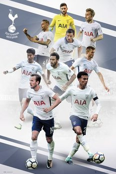 Poster Tottenham - Players 17/18