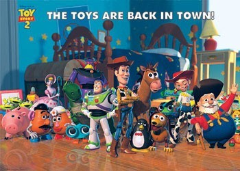 TOY STORY 2 - back in town Poster, Art Print