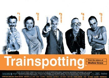 TRAINSPOTTING - one sheet Poster, Art Print