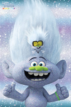Trolls World Tour - Guy Diamond and Tiny Poster