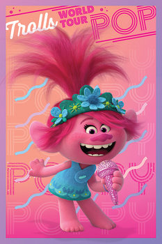 Trolls World Tour - Poppy Poster