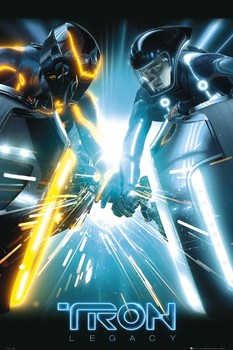 TRON - sparks Poster, Art Print