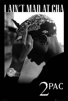 Tupac - mad Poster