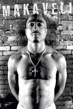 Tupac - makaveli Poster