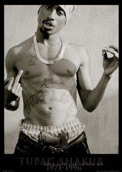 Tupac - only god can Poster
