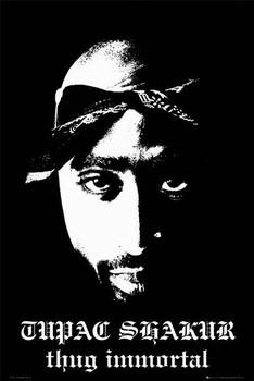 Tupac - thug immortal Poster