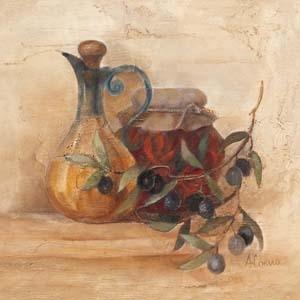 TUSCAN TABLE IV Art Print