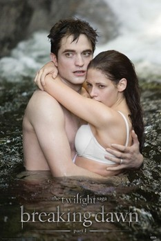 TWILIGHT BREAKING DAWN - edward & bella Poster