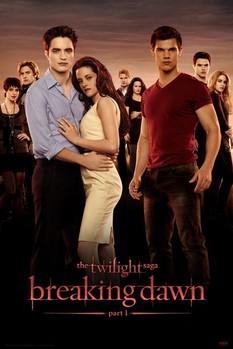 TWILIGHT - breaking dawn Poster