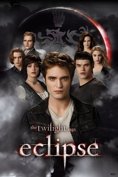 TWILIGHT ECLIPSE - cullens Poster