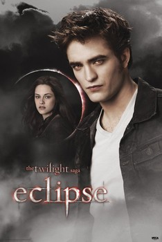 TWILIGHT ECLIPSE - edward & bella moon Poster