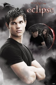 TWILIGHT ECLIPSE - jacob & bella moon Poster