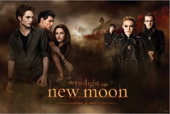 TWILLIGHT NEW MOON - threesome Poster