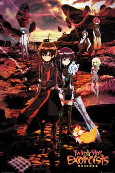 Twin Star Exorcists - Twin Star Exorcists Key Art Poster