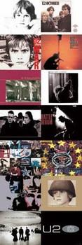 U2 - album covers Poster