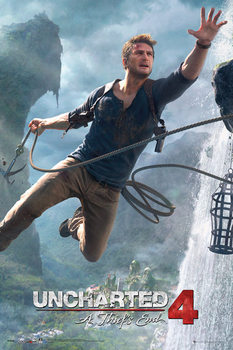 Pôster Uncharted 4: A Thief's End - Jump
