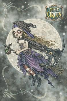 V. Frances - misty circus Poster