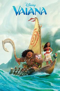 Vaiana - Boat Poster