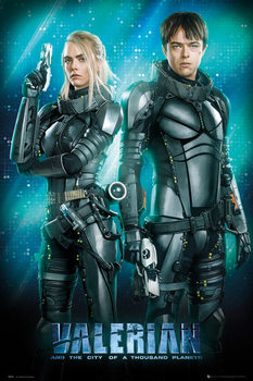Poster  Valerian - Duo