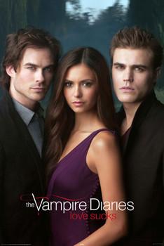 VAMPIRE DIARES - triangle Poster