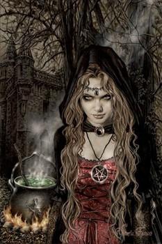 Victoria Frances - cauldron Poster