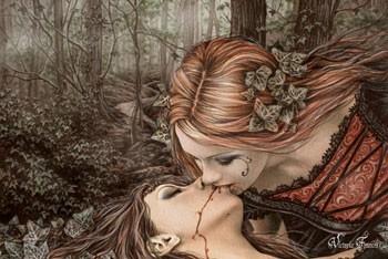 Victoria Frances - kiss Poster