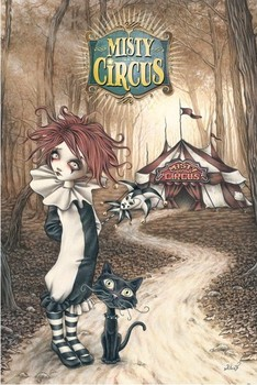 Victoria Frances - misty circus Poster