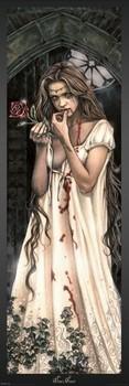 Victoria Frances - rose door Poster