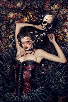 Victoria Frances - skullgirl Poster
