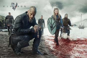 Poster Vikings - Blood lanscape
