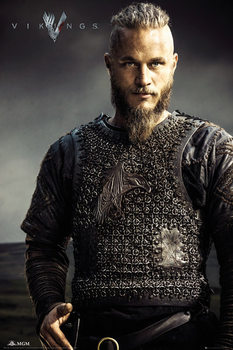 Pôster Vikings - Ragnar Lothbrok