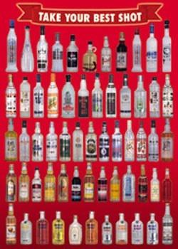 Vodka bottles - take your best Poster