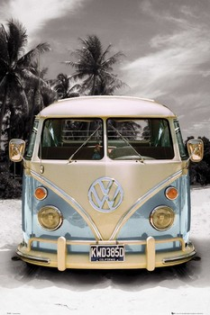 VW California camper Poster, Art Print