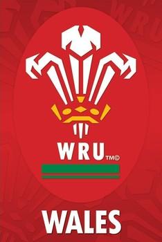 Wales R.U - crest Poster