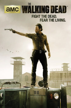 WALKING DEAD - season 3 Poster, Art Print