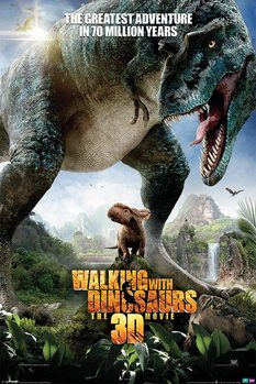 WALKING WITH DINOSAURS - one sheet Poster