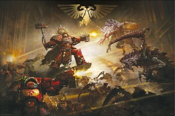 Poster Warhammer 40K - The Battle of Baal