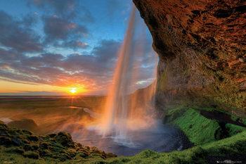 Waterfall - Tom Mackie Poster